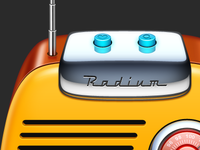 Icon for Radium, WIP