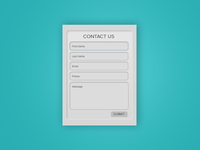 Simple Contact Form Update