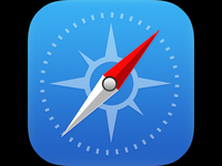 Prismatic for iPad: Safari icon