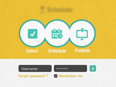 Application-login-page