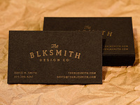 BlkSmith Design Co. Cards