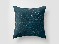 Space Hangout Pillow