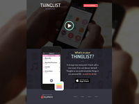 Thinglist Marketing site