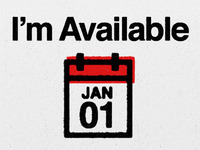 I'm Available January 1st