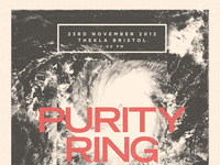 Purity Ring Poster