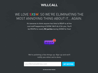 Willcall at SXSW
