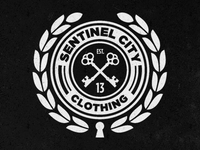 Sentinel City badge logo