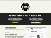 Work in progress: IOWMCC site design