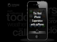 The Best iPhone Experience with syPhone