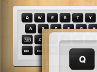 Virtual Keyboard for new app