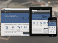 Responsive Patent Lawyer Site