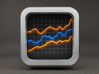 Stock Market App Icon