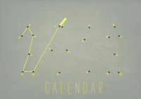 Connect the Dots Calendar [schoolproject]