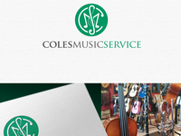 Coles Music Service - Logo Design Concept for a client