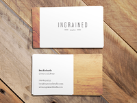 Ingrained Studio Biz Cards