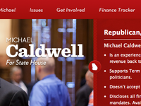 Caldwell for House Feature Article Header