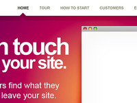 ... touch ... your site.