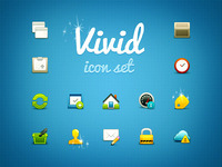 Vivid Icon Set Released