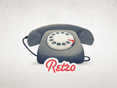 Dribbble_retro_phone