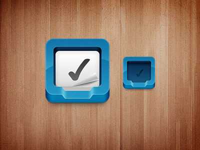 Dribbble_todo_icon