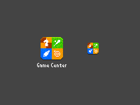8-bit Game Center icon