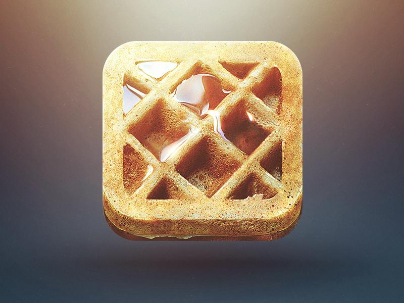 waffle iphone icon by Eddie Lobanovskiy