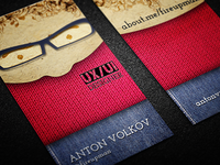 Personal Business Cards (wool)