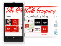 Ideas for Coca-Cola App for the Windows platform