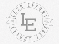 Less Effort Circle Logo