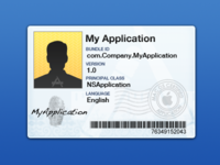 Application ID Card