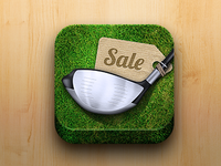 Golf Market App Icon