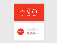 TEDxSFU Business Card