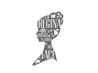 Full Logo for ReginaWithThingsInFrontOfHerFace blog