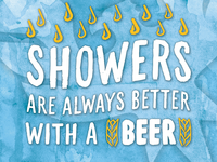 Beer Showers