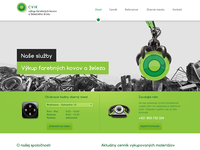 CVIK - Scrap metal / website