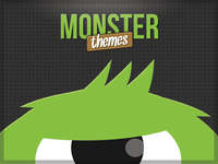 Ad design for MonsterThemes.com