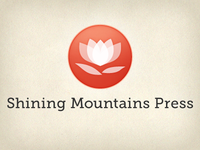 Refined logo option for Shining Mountains Press