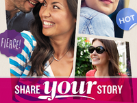 Share Your Story app graphic