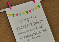 Colossians Printable Art