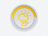Dribbble Friendly Weather App