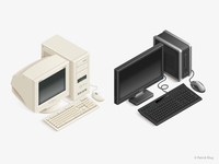 PC Evolution Icons