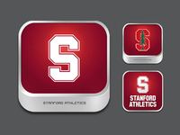Stanford Athletics App Icons