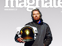 Sir Richard Branson cover Magnate