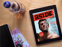 asidemag.com the world's 1st magazine only made with HTML5.