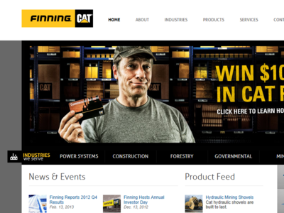 Finning.ca is live!