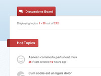 Forum app for Facebook