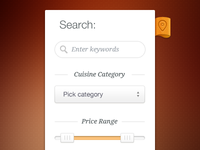 Search Widget - Cibando Website