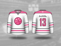 Dribbble Hockey Jersey