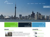 Toronto Website First Pass