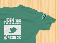 Red Sox Twitter Shirt Concept